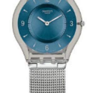 Orologio Skin Metal Knit Blue