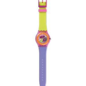 SWATCH - Orologio Backup Black A World in Colors