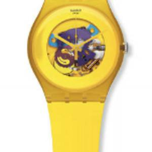 Orologio New Gent Yellow Lacquered