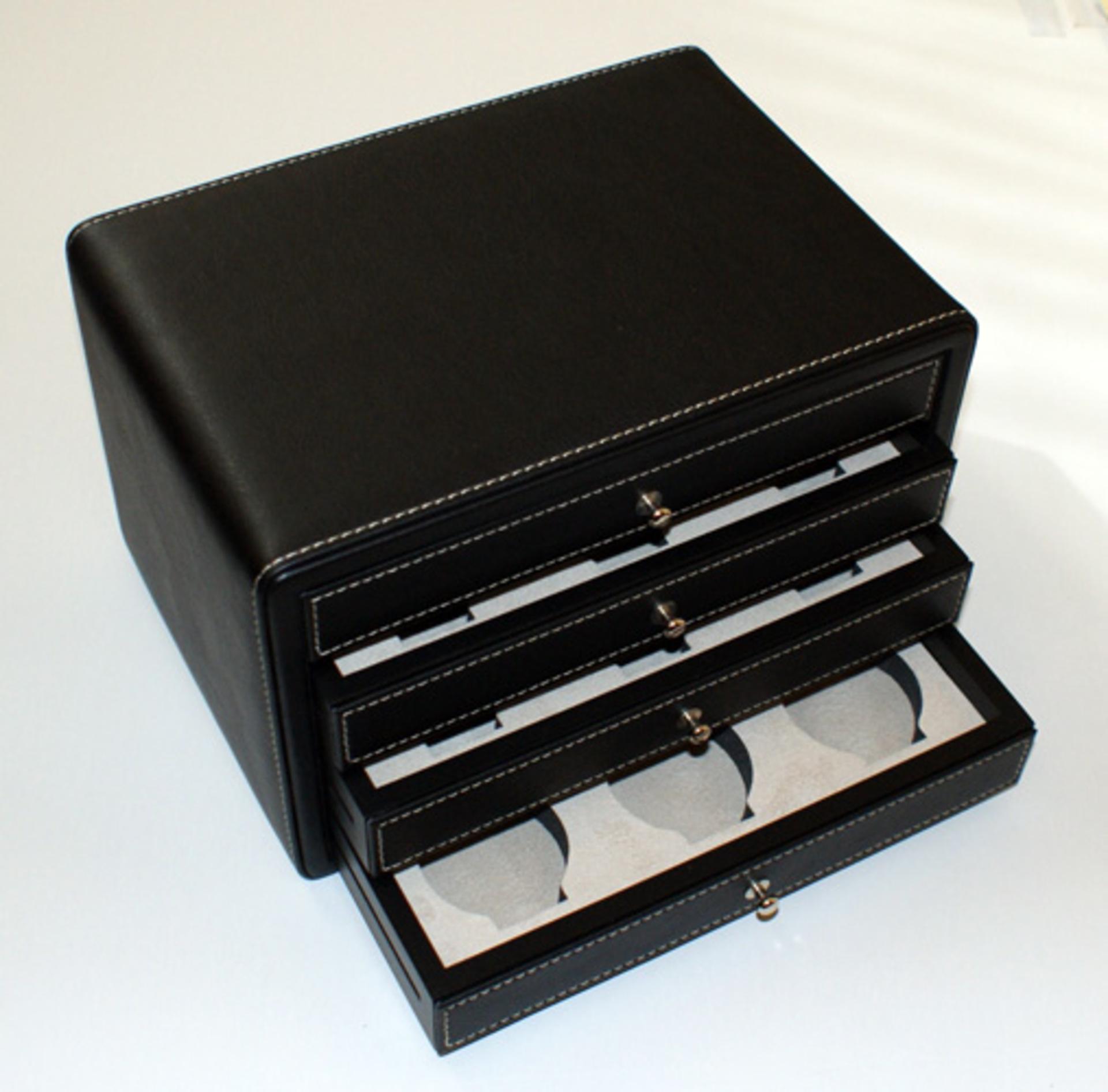 Porta orologi scatola con cassetti 12 posti temporo - Porta orologi uomo ...