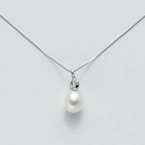 Collier Perla e Diamante