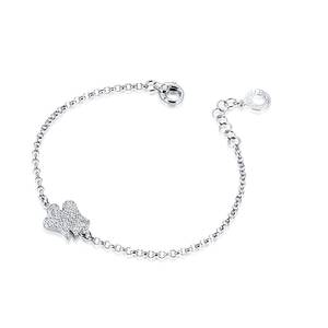 Bracciale Donna con ANGELO ``Double Face`` in Argento