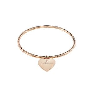 Bracciale in Oro rosa con Diamante MINIMAL POP