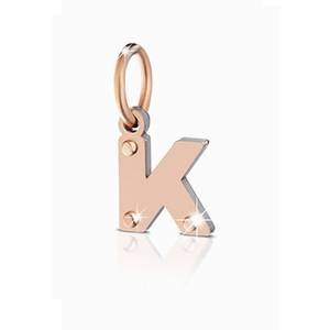 Charm LOCK YOUR LOVE Lettera K
