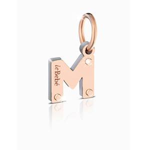 Charm LOCK YOUR LOVE Lettera M