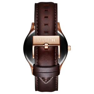 Orologio Uomo Solo Tempo FORTY ROSE GOLD BROWN