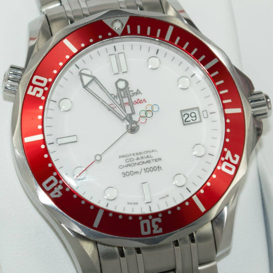 Seamaster co-axial olimpiadi