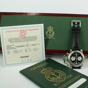 Graham Chronofighter Chronometer Automatic Luxury Chronograph