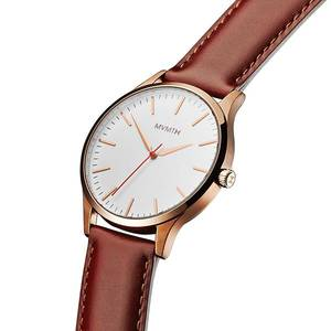 Orologio Uomo Solo Tempo FORTY ROSE GOLD NATURAL TAN
